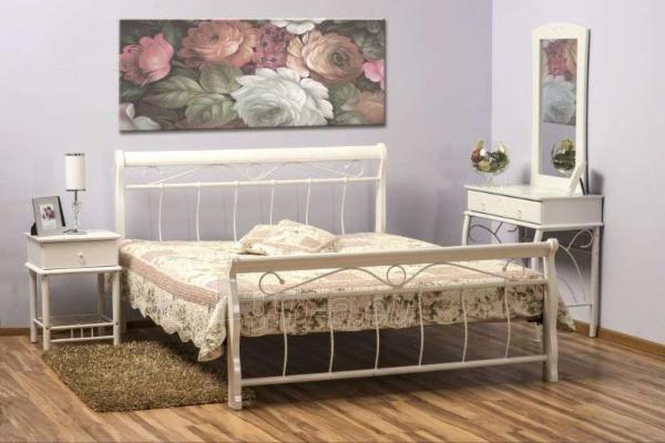 Miegamojo lova Venecja 160 balta Paveikslėlis 1 iš 1 250432000374