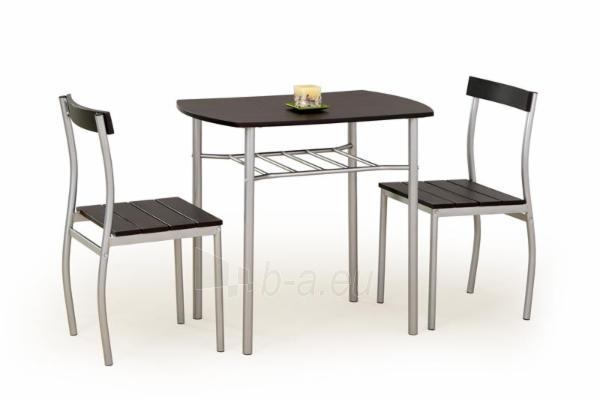 Stalas su kėdėm LANCE (wenge) Paveikslėlis 1 iš 2 250452000007