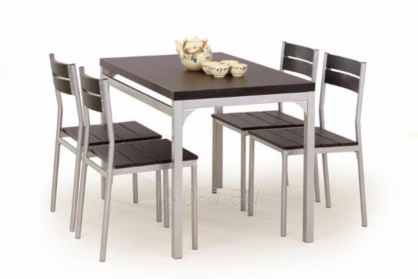 Stalas su kėdėm MALCOLM (wenge) Paveikslėlis 1 iš 2 250452000010