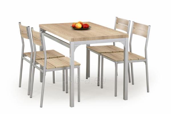 Stalas su kėdėm MALCOLM (ąžuolas sonoma) Paveikslėlis 1 iš 2 250452000037