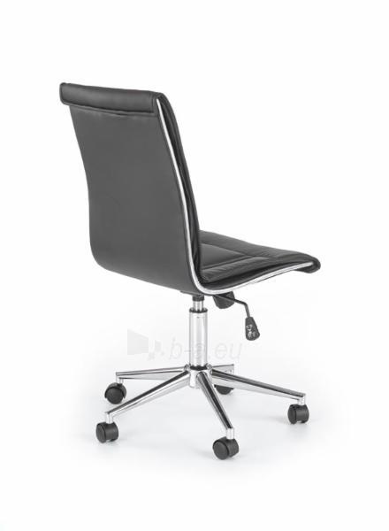 Biuro kėdė darbuotojui PORTO juoda Paveikslėlis 3 iš 3 250462100033