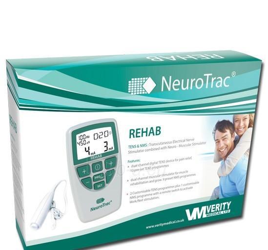Elektrostimuliacijos aparatas NeuroTrac REHAB Paveikslėlis 4 iš 4 250610100002