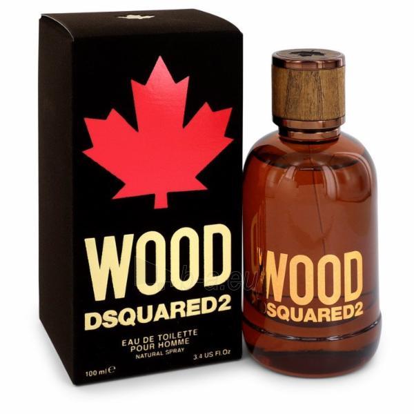 Tualetinis vanduo Dsquared2 Wood EDT 100ml Paveikslėlis 1 iš 1 250812002098