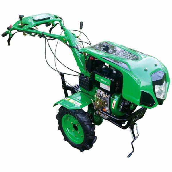 Motoblokas GREEN C12 Paveikslėlis 1 iš 9 264200000159