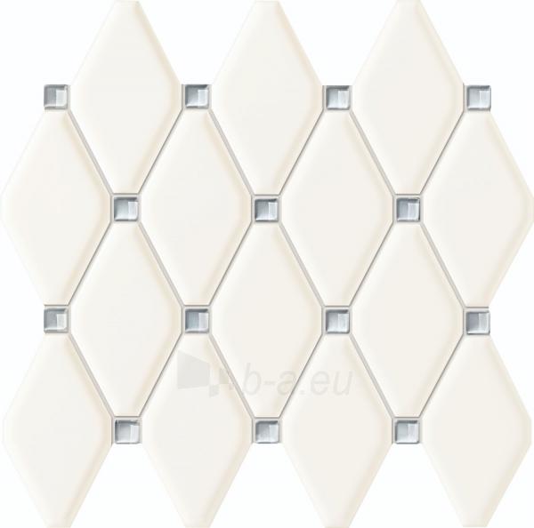 27*29.8 MS- ABISSO WHITE, mozaika Paveikslėlis 1 iš 1 310820025554