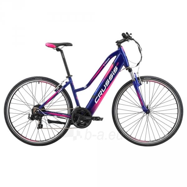 28 Moteriškas kroso elektrinis dviratis Crussis e-Cross Lady 1.4-S 17* Paveikslėlis 1 iš 2 310820182708