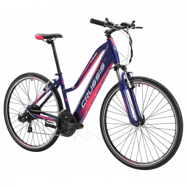 28 Moteriškas kroso elektrinis dviratis Crussis e-Cross Lady 1.4-S 17* Paveikslėlis 2 iš 2 310820182708