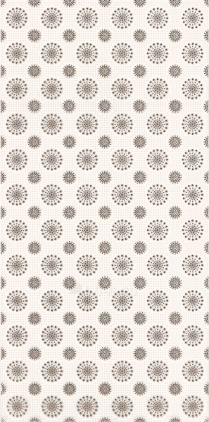 29.5*59.5 PIUMETTA BIANCO INS B, dekoruota plytelė Paveikslėlis 1 iš 1 237751002044