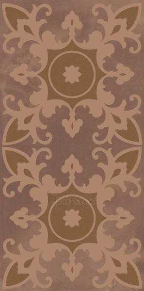 29.5*59.5 SABRO BROWN GEOMETRYK INS, dekoruota plytelė Paveikslėlis 1 iš 1 237751002059