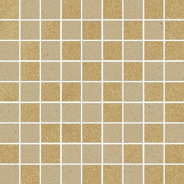29.8*29.8 MOZ ARKESIA BEIGE/BROWN MIX POL, akmens masės mozaika Paveikslėlis 1 iš 1 237751002470