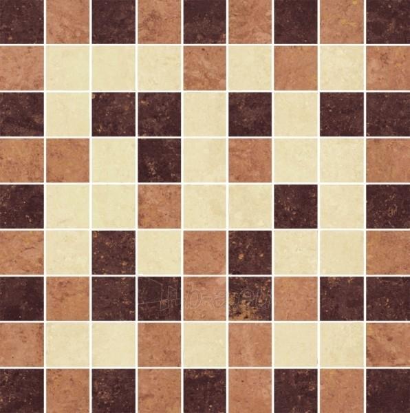 29.8*29.8 MOZ MISTRAL BEIGE MIX POL, ak. m. mozaika Paveikslėlis 1 iš 1 237751002481