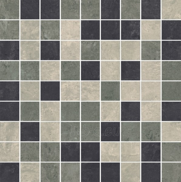 29.8*29.8 MOZ MISTRAL GRYS MIX MAT, ak. m. mozaika Paveikslėlis 1 iš 1 237751002482