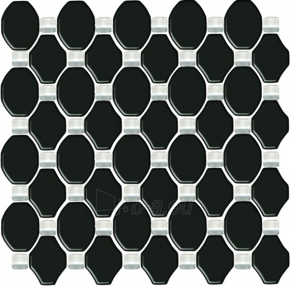 29.8*29.8 MOZ SECRET NERO SZKLANA, mozaika, klijuoti Maxibond Paveikslėlis 1 iš 1 237751002114
