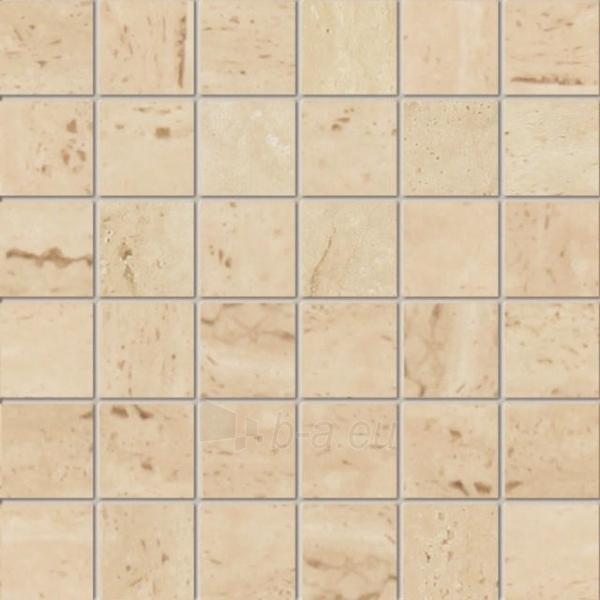 29.8*29.8 MP-TRAVERTINE 1A, mozaika Paveikslėlis 1 iš 1 237751002129