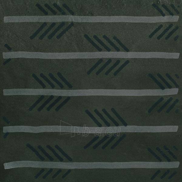 29.8*29.8 TIGUA GRAFIT INS C, dekoruota akmens masės plytelė Paveikslėlis 1 iš 1 310820018928