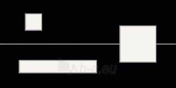 29.8*59.8 D-MITA BLACK, dek. tile Paveikslėlis 1 iš 1 237751002160