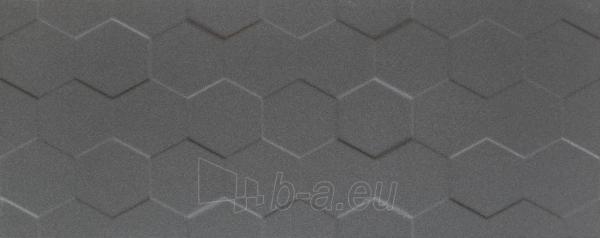 29.8*74.8 S- ELEMENTARY GRAPHITE HEX STR, plytelė Paveikslėlis 1 iš 1 310820028809