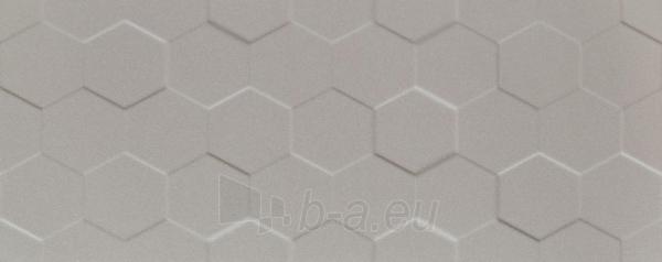 29.8*74.8 S- ELEMENTARY GREY HEX STR, tile Paveikslėlis 1 iš 1 310820028806