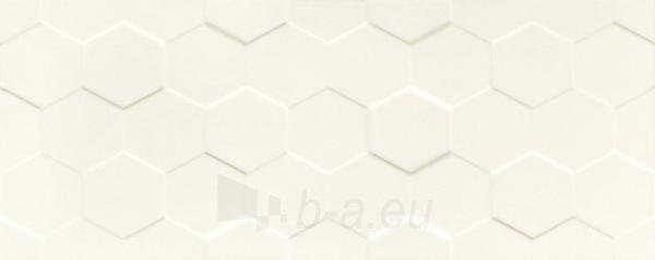 29.8*74.8 S- ELEMENTARY WHITE HEX STR, plytelė Paveikslėlis 1 iš 1 310820025570