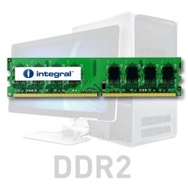2GB DDR2-800 ECC DIMM  CL6 R2 UNBUFFERED  1.8V Paveikslėlis 1 iš 1 250255112029