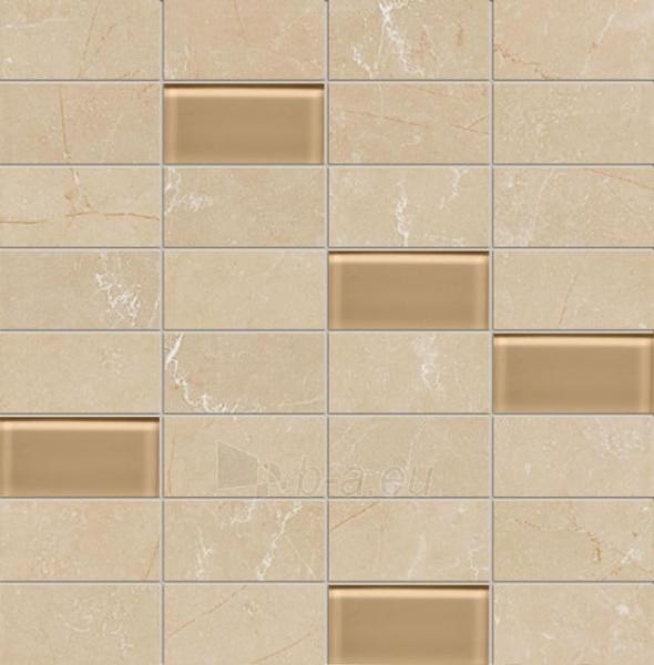 30.3*30.8 MS- GOBI BEIGE, mozaika Paveikslėlis 1 iš 1 237751002909