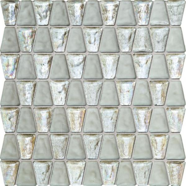 30.4*30.6 MS- DROPS GLASS WHITE, mozaika Paveikslėlis 1 iš 1 310820096153