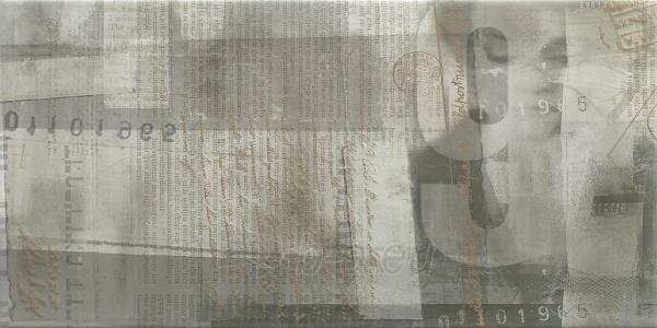 30*60 ERMEO GRYS INS B, dekoruota plytelė Paveikslėlis 1 iš 1 310820041954