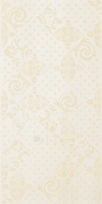 30*60 LUCIOLA ECRU INS DAMASCO, dekoruota plytelė Paveikslėlis 1 iš 1 237751002280