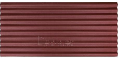 Bituminis lakštas CORRUBIT 930x2000 mm, raudonas Paveikslėlis 1 iš 1 310820018702
