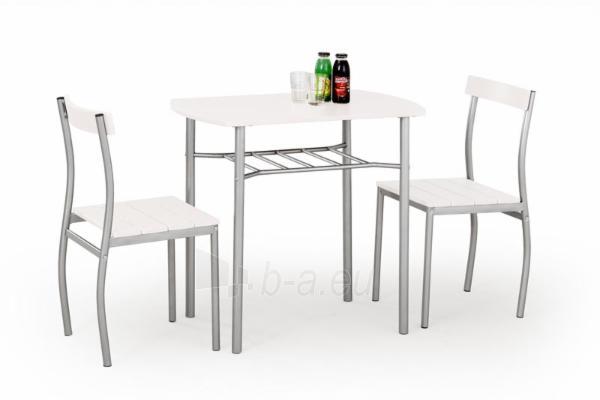 Stalas su kėdėmis LANCE (baltas) Paveikslėlis 1 iš 2 310820039409