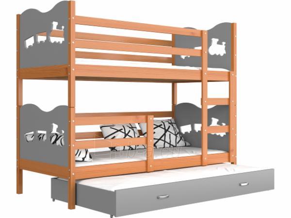 Vaikiška Trivietė Lova Max 3 190x80 Paveikslėlis 15 iš 24 310820056058