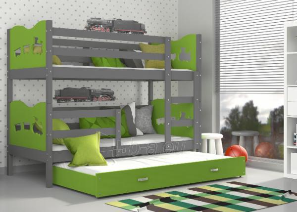 Vaikiška Trivietė Lova Max 3 190x80 Paveikslėlis 8 iš 24 310820056058