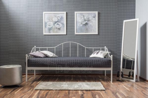Miegamojo lova Dover 90 balta Paveikslėlis 1 iš 2 310820073546