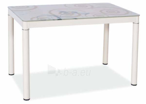 Valgomojo stalas Damar 80x60 Paveikslėlis 2 iš 4 310820121062