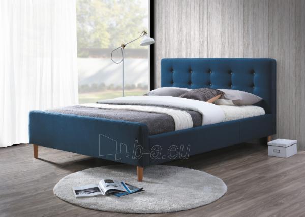 Miegamojo lova Pinko 160 mėlyna Paveikslėlis 1 iš 2 310820123730