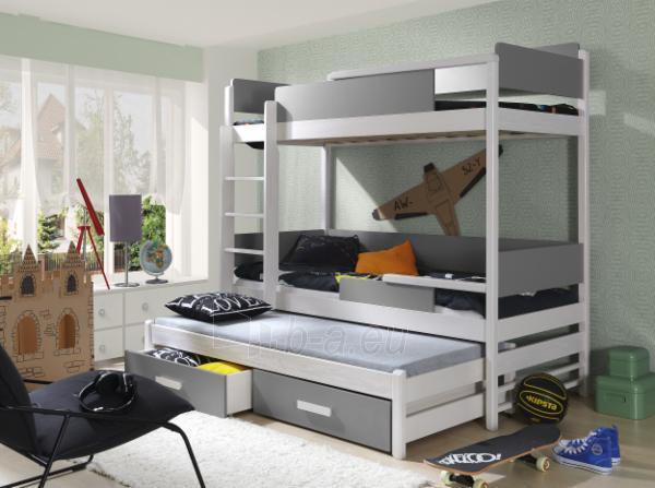 Vaikiška trivietė lova QUATRO Paveikslėlis 6 iš 6 310820128587