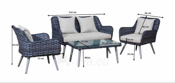 Lauko baldų komplektas MODESTO Paveikslėlis 7 iš 10 310820129598