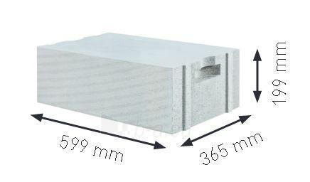 Blokeliai YTONG ENERGO+ (PP2/0.3) S+GT 599x199x365 Paveikslėlis 1 iš 1 310820135861