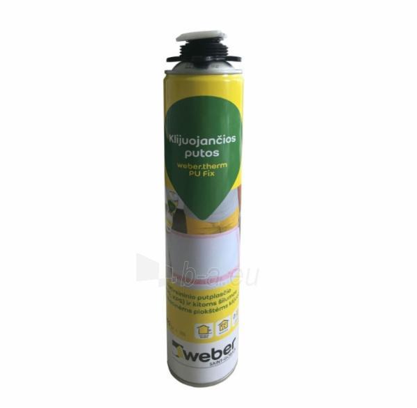 Putos klijuojančios, poliuretaninės PU fix Weber 750ml Fasado šiltinimui Paveikslėlis 1 iš 1 310820150225