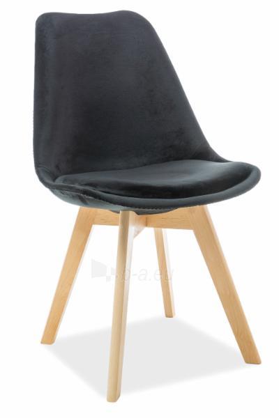 Valgomojo kėdė Dior velvetas Paveikslėlis 2 iš 4 310820151321