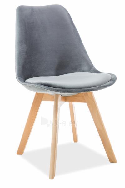 Valgomojo kėdė Dior velvetas Paveikslėlis 3 iš 4 310820151321