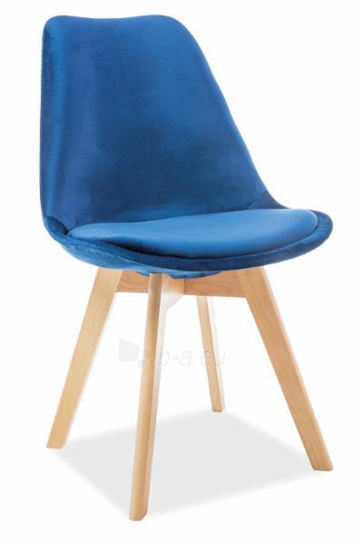 Valgomojo kėdė Dior velvetas Paveikslėlis 4 iš 4 310820151321