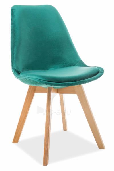 Valgomojo kėdė Dior velvetas Paveikslėlis 1 iš 4 310820151321