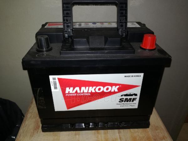 Akumuliatorius HANKOOK 55Ah/12V/480A/J Paveikslėlis 1 iš 2 310820152225