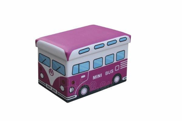 Dėžė žaislams-pufas Kiri. Paveikslėlis 2 iš 2 310820159228
