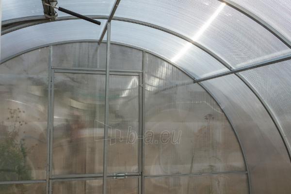Šiltnamis BETA (36 m2) 3000x12 000 su 4mm polikarbonato danga Paveikslėlis 3 iš 8 310820168056
