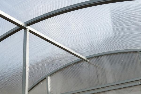 Šiltnamis ALFA (36 m2) 3000x12 000 su 6mm polikarbonato danga Paveikslėlis 5 iš 8 310820168065