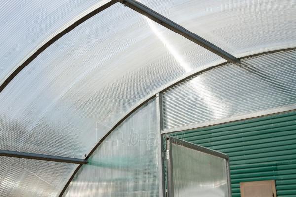 Šiltnamis ALFA (36 m2) 3000x12 000 su 6mm polikarbonato danga Paveikslėlis 6 iš 8 310820168065