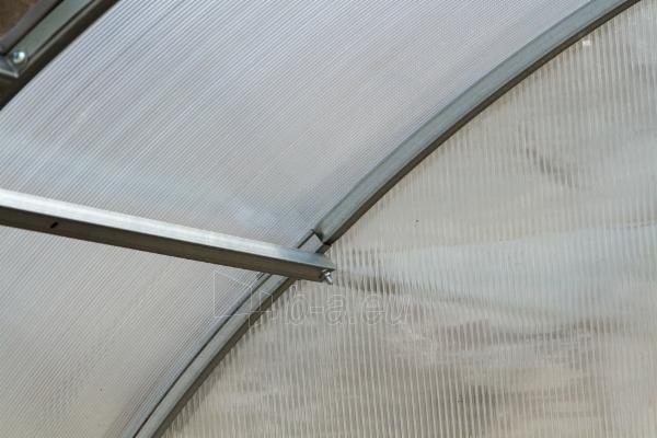Šiltnamis ALFA (54 m2) 3000x18 000 su 6mm polikarbonato danga Paveikslėlis 4 iš 8 310820168068