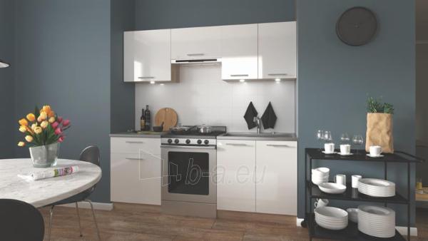 Virtuvės komplektas Marija 200 balta blizgi Paveikslėlis 3 iš 3 310820172402